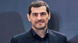 Iker Casillas, en un acto.