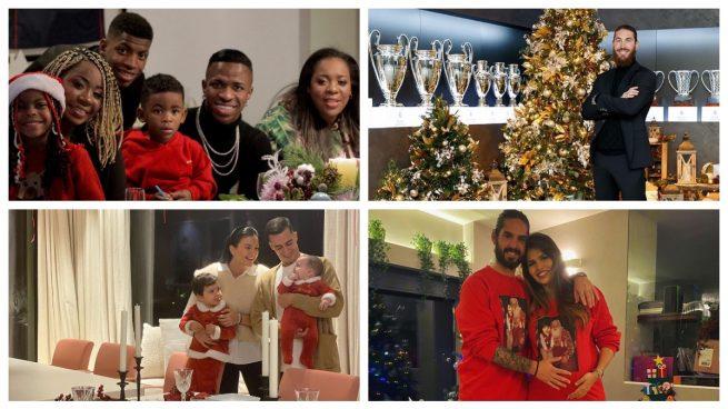 Así celebraron los jugadores del Real Madrid la Nochebuena