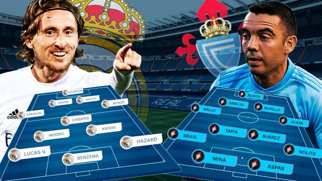 Real Madrid – Celta de Vigo: duelo de rachas para estrenar el año