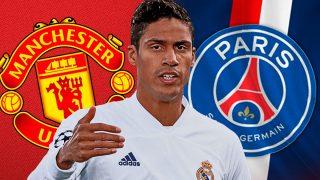 Raphael Varane tiene ofertas del extranjero.