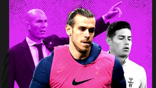 Zidane tenía razón con Bale y James
