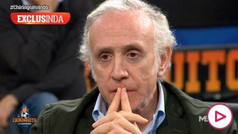 Eduardo Inda, en 'El Chiringuito de Jugones'.