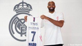 Alex Tyus, nuevo jugador del Real Madrid. (realmadrid.com)