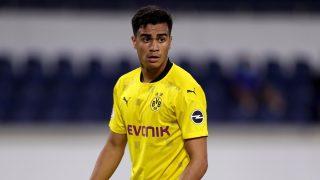 Reinier Jesús, durante un partido del Borussia Dortmund (Getty).