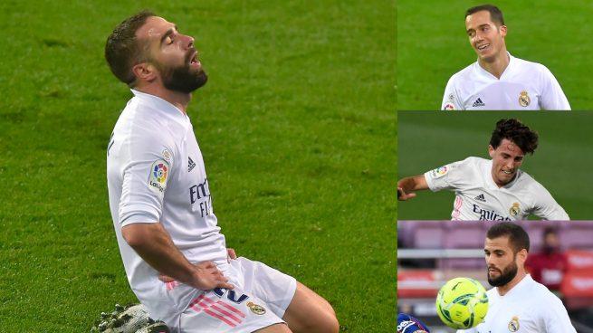 Las opciones de Zidane para el lateral sin Carvajal