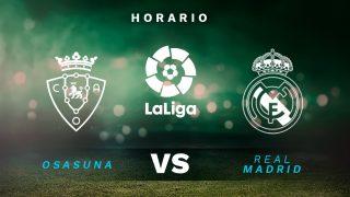 Liga Santander 2020-2021: Osasuna – Real Madrid| Horario del partido de fútbol de la Liga Santander.