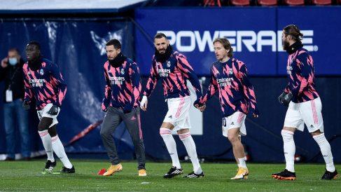 Sigue la odisea del Real Madrid en Pamplona.