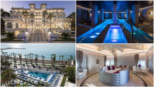 Así es el Gran Hotel Miramar de Málaga.