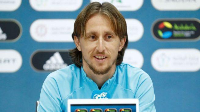 Modric: «Estoy contento por cómo va el tema de la renovación»