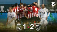 El Athletic derrotó 2-1 al Real Madrid.