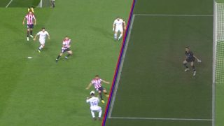 Benzema estaba en posición legal.