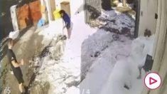 La 'sorpresa' del entrenador personal de Marcelo: ¡quitar la nieve de su casa!