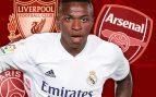 PSG, Arsenal y Liverpool, atentos a Vinicius