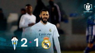 El Real Madrid cayó ante el Alcoyano en la Copa del Rey.