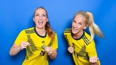 Kosovare Asllani y Sofía Jakobsson_ el gol es cosa de suecas. (@FIFA)