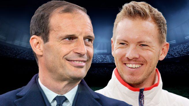 Nagelsmann y Allegri, favoritos para sustituir a Zidane