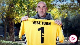 José Juan atiende a OKDIARIO tras su exhibición contra el Real Madrid.