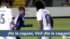 La premonición de Marcelo con Vinicius. (Cuatro)
