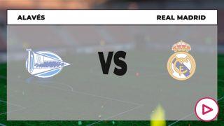 Liga Santander 2020-2021: Alavés – Real Madrid | Horario del partido de fútbol de la Liga Santander.