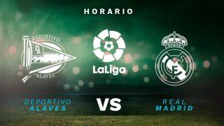 Liga Santander 2020-2021: Alavés – Real Madrid| Horario del partido de fútbol de la Liga Santander.