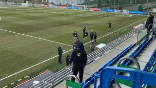 Un posible positivo en el Logroño hace que la Federación suspenda el encuentro del Real Madrid Femenino.
