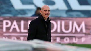 Bettoni, durante un partido. (AFP)