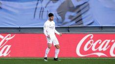 Marco Asensio celebra su gol contra el Levante. (Getty)