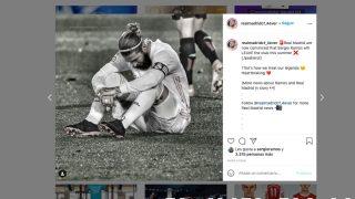 La publicación a la que dio 'me gusta' Sergio Ramos