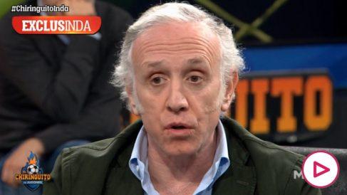 Eduardo Inda, en 'El Chiringuito'