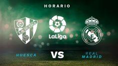 Liga Santander 2020-2021: Huesca – Real Madrid  Horario del partido de fútbol de la Liga Santander.