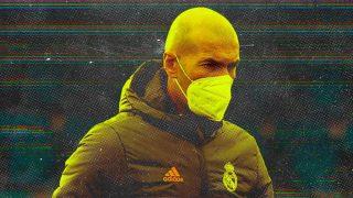 Zidane pasa al ataque.