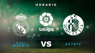 Liga Santander 2020-2021: Real Madrid – Getafe | Horario del partido de fútbol de la Liga Santander.