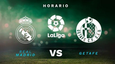 Liga Santander 2020-2021: Real Madrid – Getafe   Horario del partido de fútbol de la Liga Santander.