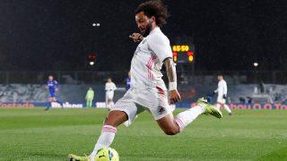 Marcelo, durante el Real Madrid – Getafe (Realmadrid.com)