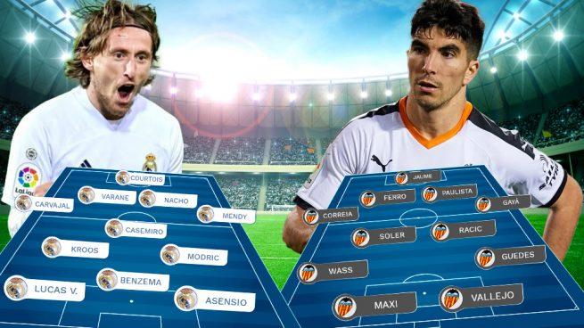 Real Madrid – Valencia: Sin margen de error