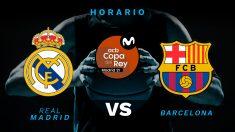 Real Madrid – Barcelona: horario y dónde ver en directo por televisión la Copa del Rey de Baloncesto.