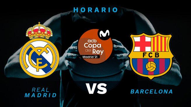 Real Madrid Barcelona dónde ver