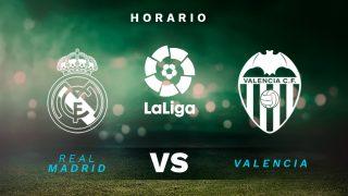 Real Madrid – Valencia: jornada 23 de la Liga Santander.
