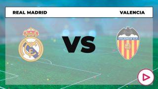 Liga Santander 2020-2021: Real Madrid – Valencia | Horario del partido de fútbol de la Liga Santander.