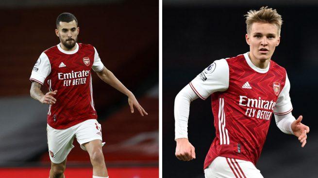 El Arsenal quiere quedarse a Ceballos y a Ödegaard
