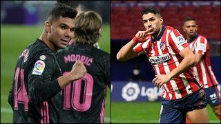 Real Madrid y Atlético se verán las caras el 7 de marzo.