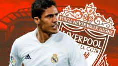 El Liverpool también se une a la puja por Varane.