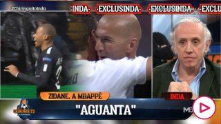 Zidane se puso en contacto con Mbappé.