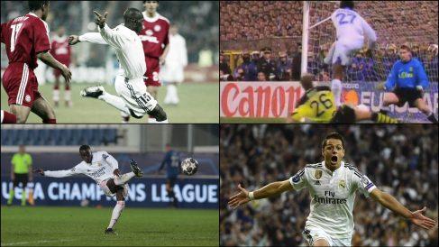 Mendy, Geremi, Karembeu o Chicharito fueron héroes inesperados en la Champions.