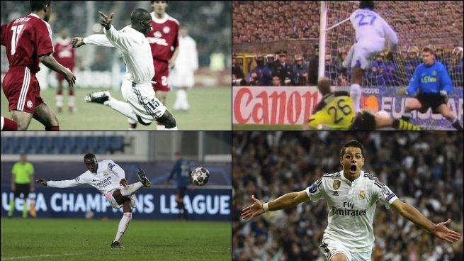 Mendy, Karembeu, Geremi y otros goles 'imposibles' en Champions