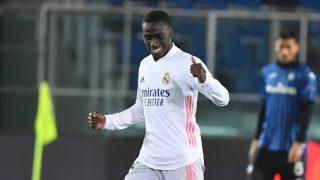 Mendy celebra el gol ante el Atalanta (AFP).