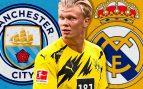 El Manchester City es el rival por Haaland
