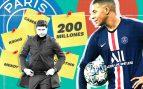 La lista del PSG para negociar por Mbappé