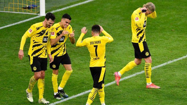 Reinier marca su primer gol con el Dortmund… a pase de Haaland