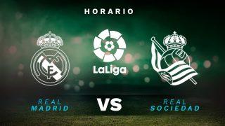 Liga Santander 2020-2021: Real Madrid – Real Sociedad | Horario del partido de fútbol de la Liga Santander.